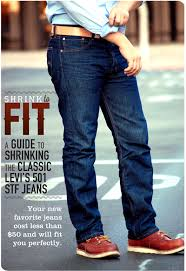 Levis 514 Size Chart Levis 501 Shrink To Fit Guide To A Perfect Fit