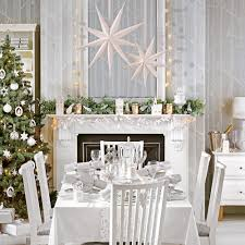 Image result for white color snow room christmas