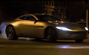 aston martin james bond 2015. spectre car chase video of aston martin db10 and jaguar cx75 james bond 2015