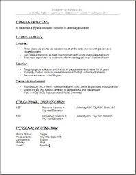 Teenage Resume Template Inspiration High School Resume Template Unique Resume Templates For High School