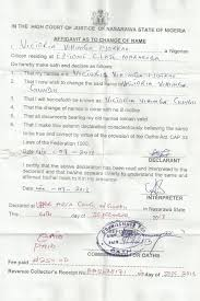 Change Of Name Mrs Victoria Vihimga Terseer Gundu Premium Times