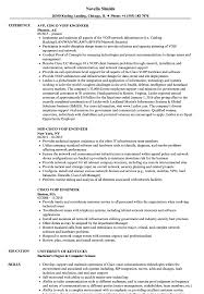 Cisco Voip Engineer Resume Samples Velvet Jobs