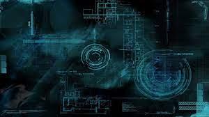 blue wallpaper #technology digital art ...