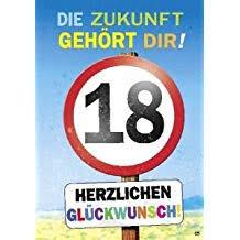 Suchergebnis Auf Amazonde Für Sprüche Zum 18 Geburtstag 5 20