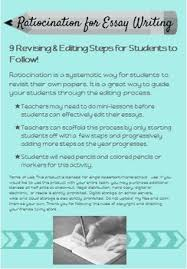 step by step ratiocination revising editing printable for any  step by step ratiocination revising editing printable for any essay