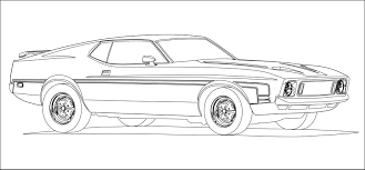 Small Picture Muscle Car Coloring Pages 26506 Bestofcoloringcom