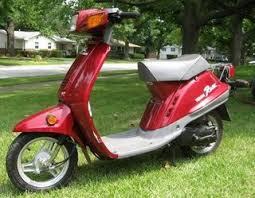 yamaha razz motor scooter guide yamaha razz stormy red