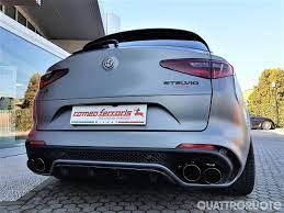 Alfa Romeo Stelvio Quadrifoglio Con Romeo Ferraris La N Ring Sfiora I 600 Cv Quattroruote It Alfa Romeo Quadrifoglio Accessori Jeep Wrangler