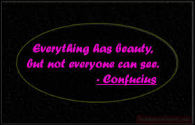 Everything Has Beauty Quotes Best Of Everything Has Beauty By Confucius New Quotes Status