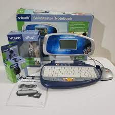 VTech SkillStarter Notebook Children's Laptop Computer With Mouse RARE for  sale online