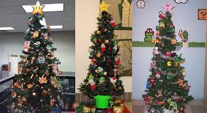 8bit Xmas Tree  Xmas Tree Xmas And GamingSuper Mario Christmas Tree