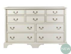 clifton dove grey wide chest of drawers would love this for my spare bedroom beautiful antique style white grey chest of drawers
