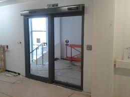 automatic sliding door fire rated automatic sliding door