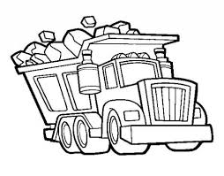 Chuck The Dump Truck Coloring Pages - Coloring Pages Ideas