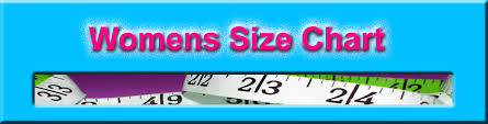Womens Size Chart For Clothes