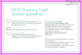 Moo Com Business Card Template Moo Templates Business Card