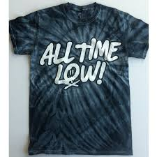 All Time Low T Shirt Design All Time Low Tie Dye T Shirt