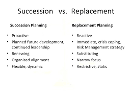 Succession Planning And Cross Training Boldly Preparing For
