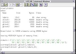 size of matrix matlab correlation matrix code eigenvector research inc
