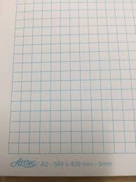 Graph Paper A2 594 X 420 Mm 2mm Or 1mm Sheet Or Bulk Buy 12 Pack