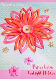 Chart Paper Flower Making 100 Diwali Ideas Cards Crafts Decor Diy And Party Ideas