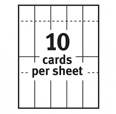 Avery Printable Tickets With Tear Away Stubs For Laser And Inkjet