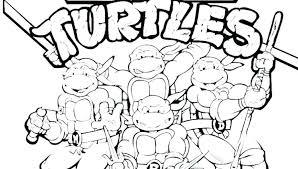 Ninja Turtle Coloring Pages At Free Printable Teenage Mutant Ninja