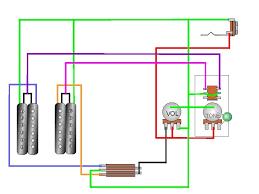 2 humbuckers 1 volume 1 tone 3 way switch golkit com Humbucker Wiring Diagrams 2 Vol 1 Tone 2 humbuckers, 1 vol, 1 tone, 3 way switch, and \\\