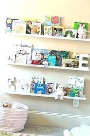 ledge shelf for books book ledges w nursery wall colours and picture shelves ikea ribba floating