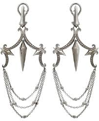 chandelier earrings silver large chandelier earrings in sterling silver silver chandelier earrings