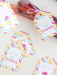 Summer Gift Tags Stay Cool Summer Gift Tags Liz On Call