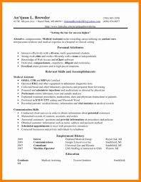9 Medical Assistant Objective For Resume New Hope Stream Wood
