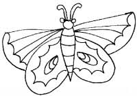 Disegno Di Farfalla Da Colorare Cose Per Crescere