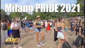 Milano Pride 2021 | Manifestazione finale all'Arco della Pace