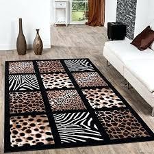 animal print area rugs themed zebra rug