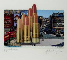 performance art the swinging sixties pop film and fluxus  claes oldenburg lipsticks in piccadilly circus london 1966
