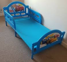 character world official disney cars toddler junior child bed safety rails kids bedroom furniture