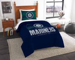 seattle mariners bedding twin comforter set grand slam official mlb