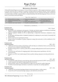 Mechanical Engineering Resume Templates Mechanical Engineering Resume Format Pdf Download For Fresher 50