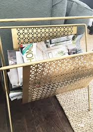 Living Room Magazine Holder Fascinating My Living Room Makeover Reveal Provident Home Design