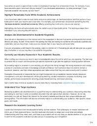 Achievements On Job Application Example Lexusdarkride