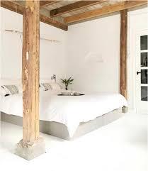 Bild Schlafzimmer weiß Wandfarbe betten Grau