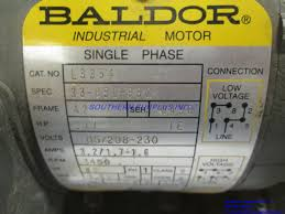 baldor l1430t general purpose ac motor single phase 184t frame Baldor Motor Wiring Diagram amazing baldor motors wiring diagram photos and motor diagrams single baldor motor wiring diagrams 3 phase