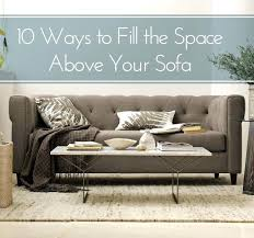 best wall behind the sofa images on home ideas in over couch decor design 9