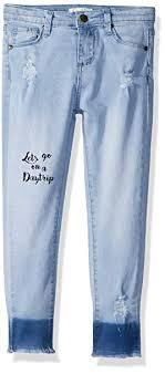 Daytrip Jeans Size Chart Jessica Simpson Girls Little Skinny Jean Amazon In