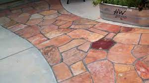 how to lay flagstone installing a