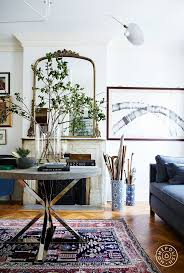 bohemian style living room. An East-Meets-West Boerum Hill Brownstone. Bohemian StyleModern DecorBohemian Interior DesignInterior Design Living RoomEclectic Style Room R