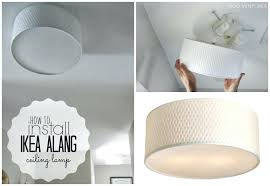 ikea ceiling lamps lighting. Perfect Ceiling Ikea Flush Mount Light Duo Ventures How To Install Ceiling Lamp Inside  Home Appliance Ideas Lamps Lighting R