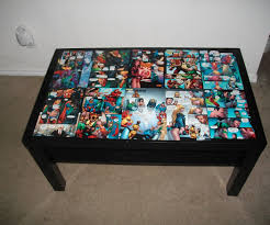 Instructables Coffee Table Dc Comic Coffee Table