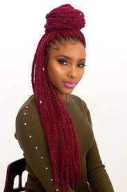 Light Red Box Braids 85 Unique And Attractive Box Braids Hairstyles To Enhance